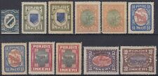 INGRIE POHJOIS INKERI : TIMBRES N° 4 + 8/11 + 13/14 NEUFS * GOMME AVEC CHARNIERE
