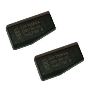 2x Transponder Wegfahrsperre Chip ID40 für VW OPEL Nissan Peugeot PCF 7935AA