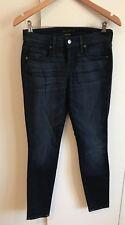 Genetic Denium blue women's cigarette jeans, size 26