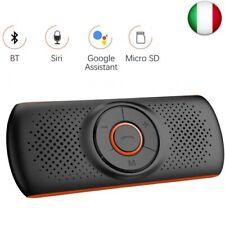 Aigoss T826 Kit Vivavoce Bluetooth da Visiera - Nero