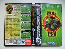 SEGA SATURN PAL Game Sega Worldwide Soccer 97