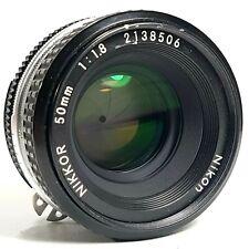 NIKON NIKKOR 50mm f/1.8 Prime Lens F Mount UK Fast Post