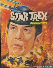 "Star Trek Annual World Distributors 1977 ""Spock Photo Cover"" Hardcover Edition"