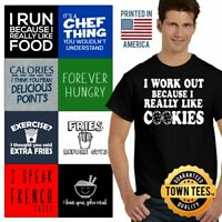 Hangry Tee Shirt Graphic T-Shirt Mens Foodie TShirts T Shirt For Womens Gifts