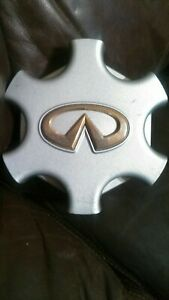 Infiniti QX4 Center Cap 2001 2002 2003 Gold Emblem #40342-3W700 Factory Original