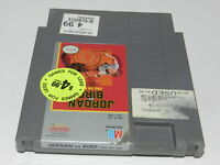 Jordan vs Bird One on One Nintendo NES Video Game Cart