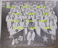 Navy Boot Camp Photo, RTC Great Lakes 89th Company---27 September 1953