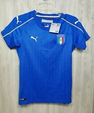 ITALY WOMENS M SOCCER JERSEY ITALIA FUTBOL FIFA WORLD CUP 80$ tag PUMA
