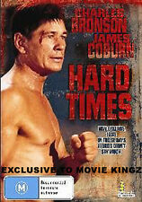 Hard Times DVD BRAND NEW SEALED -Region 4 AKA The Streetfighter