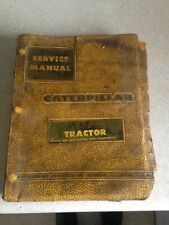 Caterpillar Vintage 60's D8 Tractor Service Manual