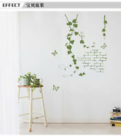 Old Wall Vines Bedroom Home Decor Removable Wall Stickers Decals Decoration