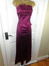 Coast Burgundy Red Corset Top & Matching Maxi Skirt/ Outfit, UK 8 10, Exc Cond
