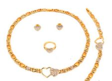 24k Gold Plated xoxo necklace set