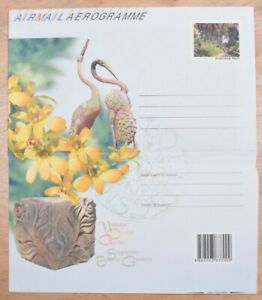MayfairStamps Singapore National Orchid Garden Flora Mint Stationery Aerogramme