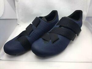 Fizik Tempo R5 Powerstrap Road Shoes 44 Navy Blue - New