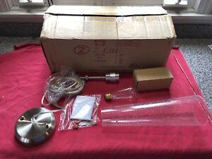 Z-Lite 188MP-BN Monte Mini Pendants 4in Nickel Tones Steel 1-light
