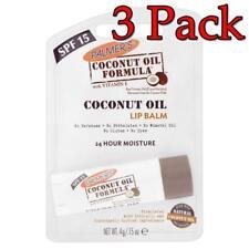 3 Lot Palmer's Coconut Oil Lip Balm .15 oz New Sealed