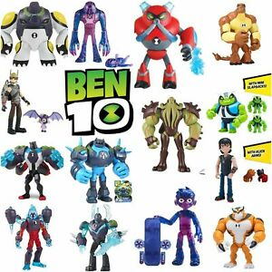 Ben 10 CN Playmates Cartoon 5-Inch Action Figures Heroes *Multi Pick* NISB