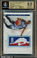 2014-15 National Treasures NBA Logoman Patch Russ Smith RC Rookie 3/5 BGS 9.5