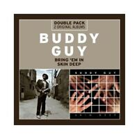 BUDDY GUY - BRING 'EM IN/SKIN DEEP  2 CD  25 TRACKS BLUES JAZZ  NEU
