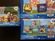Paw Patrol 9 Total Puzzles!