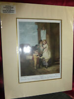 Vintage Art Print CRIES OF LONDON Frank Whearly 1910 Original engraving A Carden