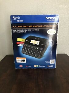 Brother PT-D600 P-Touch PC-Connectable USB Label Maker PTD600 New Open box!