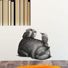 NEW Little Sticker Boy Wombat with 3 Kookas Wall Decal
