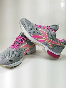 Reebok Southrange DMX Ride Pink Ribbon Grey Pink M44434 Womens Size 11