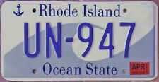 Original Nummernschild License Plate USA Rhode Island HIGH QUALITY 2018 Plaque