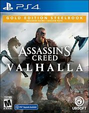 Assassin's Creed Valhalla - Gold Edition   PlayStation 4 PS4 NEW IN HAND !!!!