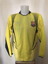 Barcelona 2003/2004 Goalkeeper Sz M Nike shirt jersey maillot soccer football GK