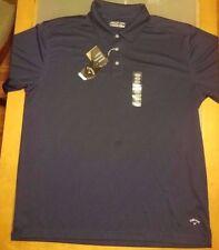 Callaway Men's Polo Golf Shirt Short Sleeve Navy Size XX-Large XXL 2XL