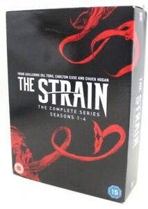 THE STRAIN The Complete Series SEASONS 1-4 14 Disc DVD Box Set REGION 2 - S77