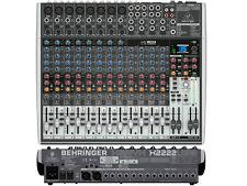 BEHRINGER X2222USB MIXER 22 INGRESSI CON USB ED EFFETTI PER VOCE A 24 BIT