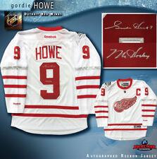 GORDIE HOWE Signed Detroit Red Wings Centenial Classic Reebok Jersey W/Mr.Hockey