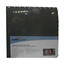 "4 Pack Interlocking Foam Activity Floor Tiles Grey Traffic Masters 24"" X 24"" Inc"