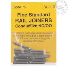 Rail HO 1/87 PECO Sl-110 - 24 eclisses metalliques Code 75