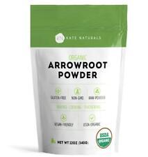 Arrowroot Flour Organic Kate Naturals Baking Cooking Thickening Sauces USDA