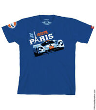 Gulf Racing 917K Paris 1000 km 1971 Tee-shirt by Nicolas Hunziker S to 2XL