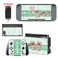 Animal Crossing Tom Nook Friends Skin Sticker For Nintendo Switch Console Joycon