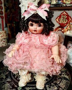 RARE Baby Adora Belle Pink Ruffles by Marie Osmond  0134/750