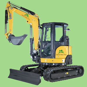 5 Ton Digger Excavator Hire Self Drive KENT, ASHFORD, FOLKESTONE, DOVER, HYTHE