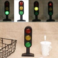 Plastic Miniature Street Traffic Light Sigh Model Kids Role Play Toy Gifts