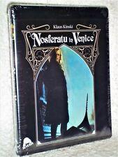 Nosferatu In Venice (Blu-ray, 2021) NEW Christopher Plummer Klaus Kinski horror