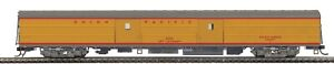 MTH 80-60091 HO UNION PACIFIC  STREAMLINED BAGGAGE CAR RD # 6334