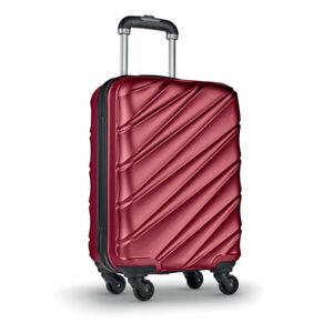 Reisekoffer Trolley Koffer Kabinen Handgepäck Bordgepäck 4 Rollen Teleskopgriff