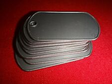 Lot Of 10 Plain Inscribable Stainless Steel DOG TAGS *Never Used*