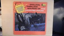 Disneyland Records CHILLING, THRILLING SOUNDS OF THE HAUNTED HOUSE LP 1964