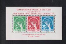 Berlin Währungsgeschädigtenblock 1980